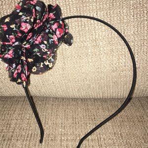 Flowered headband